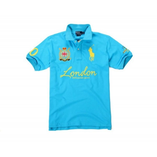 Polo Ralph Lauren Polo Shirts London 2012 Olympic Games Polo In babyblue