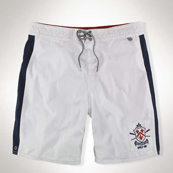 Polo Ralph Lauren Prl rowing club polo shorts in white
