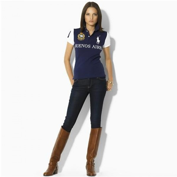 Polo Ralph Lauren Women's Skinny-Fit City Polo Buenos Aires