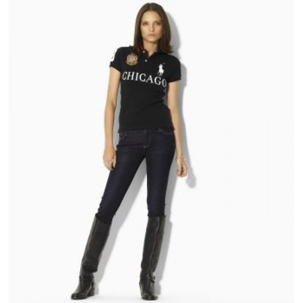 Polo Ralph Lauren Women's Skinny-Fit City Polo Chicago